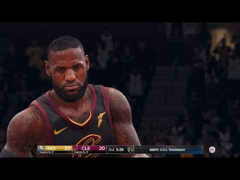 NBA Playoffs LIVE 18 PS4 PRO - Indiana Pacers vs Cleveland Cavaliers - Game 5 - 2nd Half - HD
