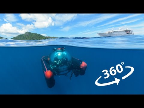 Crystal Cruises' Submarine in VR 360