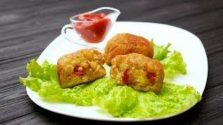 Картофельные шарики с курицей - Рецепты от Со Вкусом