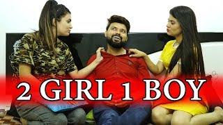 Gambar cover 2 Girls 1 Boy In A Room | Sharing Flat With 2 Girls | Fuddu Kalakar