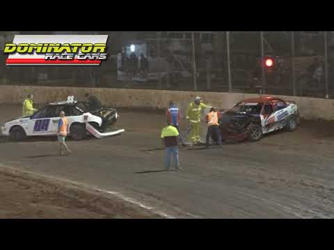 Modified Sedans - Kings Royal IV - A-Main - Kingaroy Speedway - 24.01.16