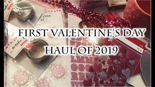 First Valentine's Day Haul of 2019 💕