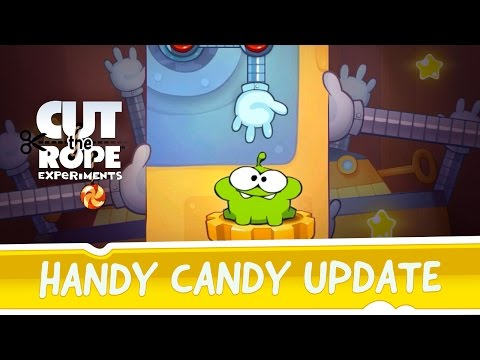 Cut the Rope: Experiments - Handy Candy update
