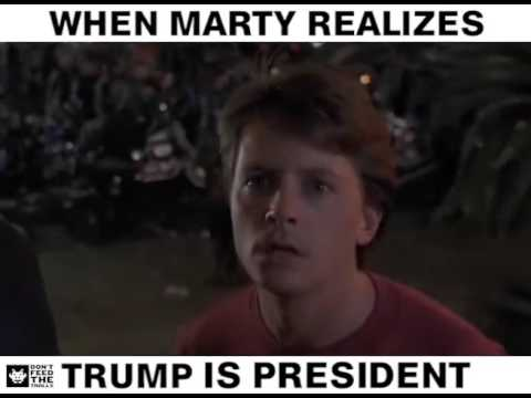 Marty Realizes Trump Became President