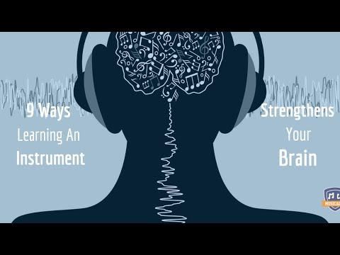 9 Ways Learning An Instrument Strengthens Your Brain