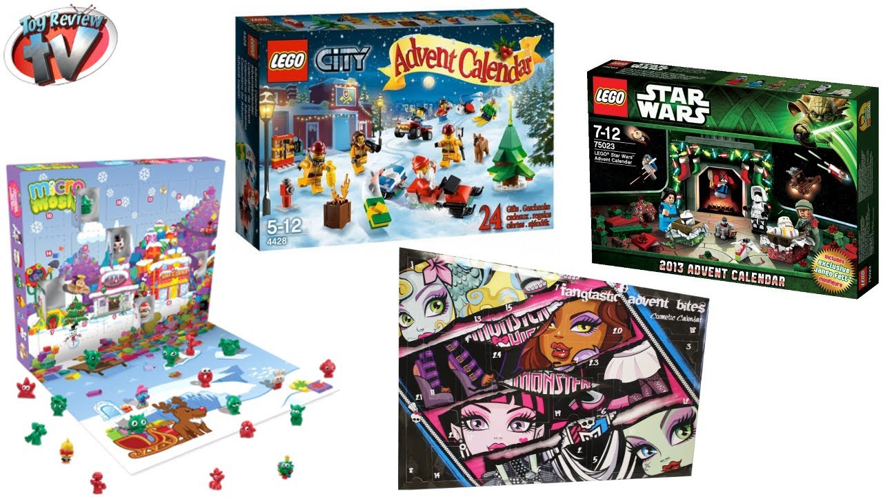 Advent Calender Announcement For Christmas 2013 Moshi Lego