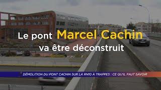 Yvelines | Démolition du Pont Marcel Cachin sur la RN10 : ce qu'il faut savoir