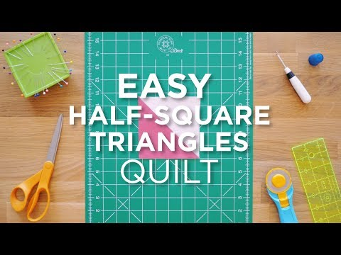 Quilt Snip Mini Tutorial - Easy HST