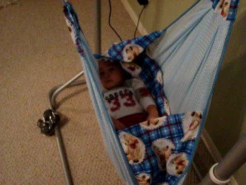0 44 portable self rocking baby hammock   amby baby  with baby    www      rh   youtube
