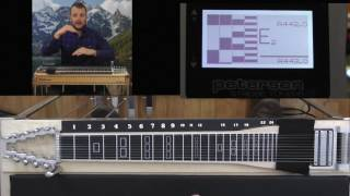 How To Tune The Pedal Steel Using Just Intontation @ www.jeffsguitarandsteel.com