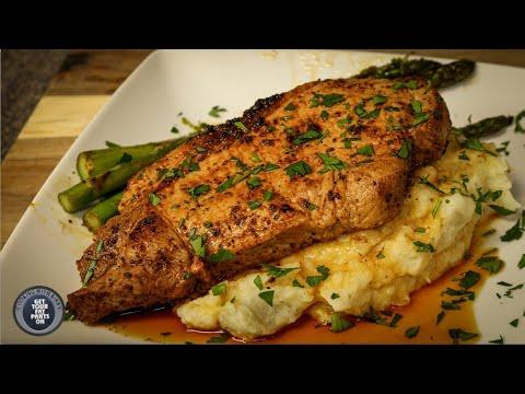 Pan Seared Pork Chops | Easy Recipe