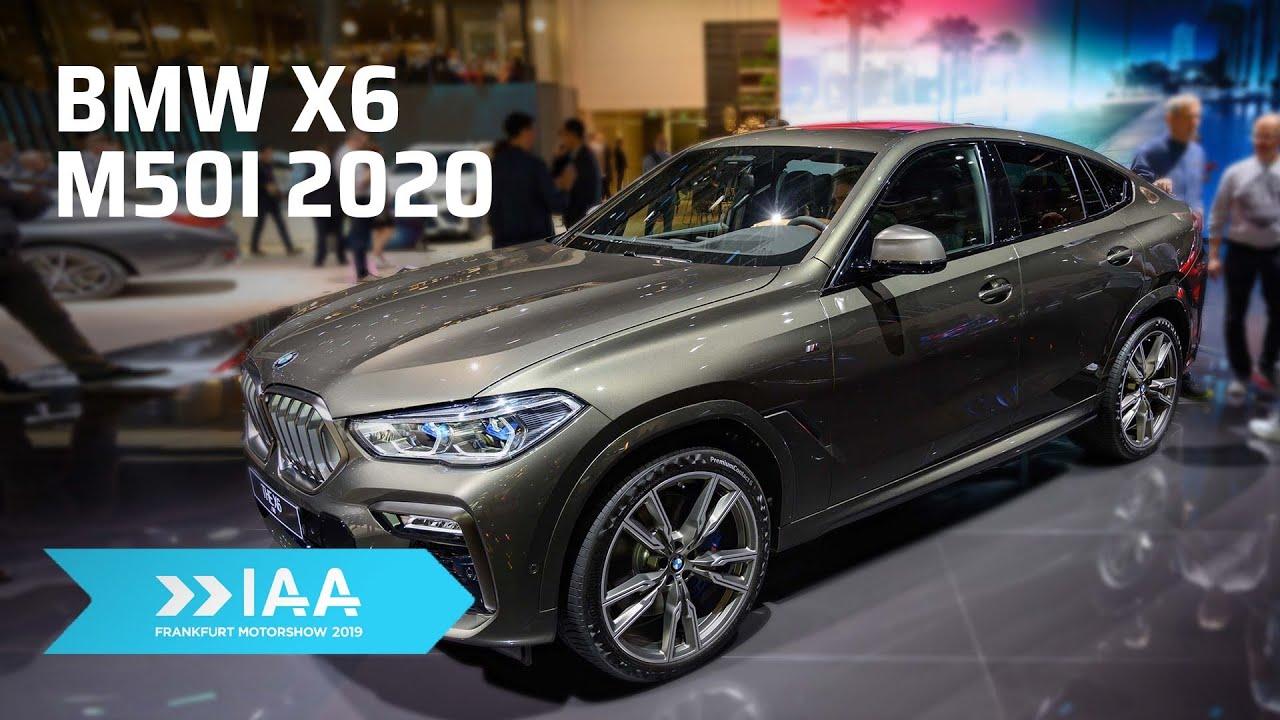 Chi tiết mẫu xe BMW X6 G06 2020