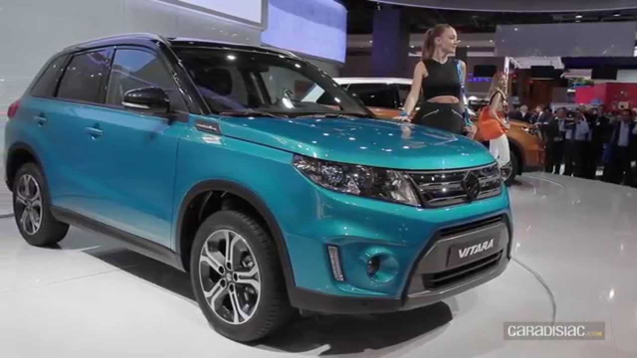 Suzuki Vitara 2015 - Salon Auto de Paris 2014 - YouTube