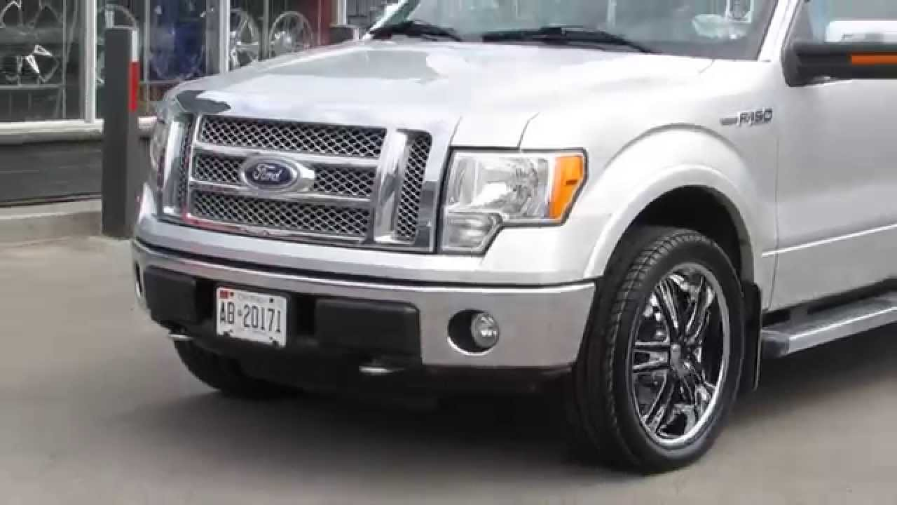 Hillyard Rim Lions 2010 Ford F150 Riding On 22 Inch Chrome Rims Black Insert Done Correct Youtube