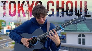 Video Unravel - Tokyo Ghoul OP 1 [Full Version] Fingerstyle Guitar Cover download MP3, 3GP, MP4, WEBM, AVI, FLV Maret 2018