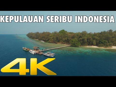 [Thousand Islands] Kepulauan Seribu Indonesia in 4K