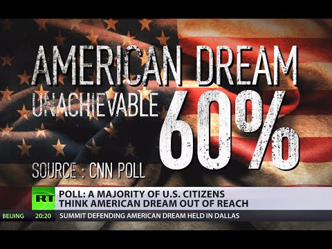 Paradise lost: 60% of US citizens believe American dream is unachievable