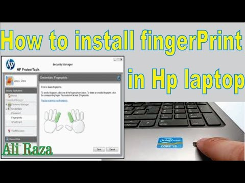 How to Enable and Install FingerPrint Driver& Softwarein Hp Laptop.