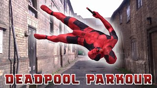 Deadpool Parkour In Real Life (Marvel | Stunts | Tricking)