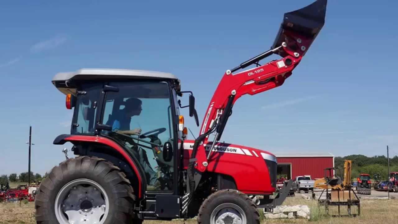 Massey Ferguson 1742 Cab Tractor Demo
