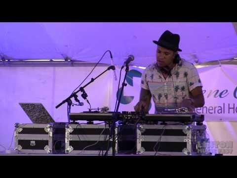 DJ Action Jackson   at the Linton Music Fest