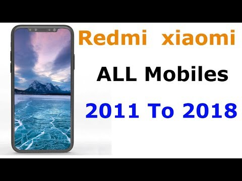 Redmi Mobile History - All Xiaomi Redmi Mobiles 2011 To 2018