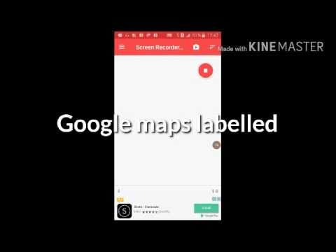 how to save/label a point on Google maps app