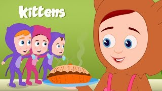 Three Little Kittens | Schoolies Cartoon | Nursery Rhymes For Kids