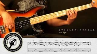Zafer Şanlı Bas Gitar Dersleri Stiller Reggae 1 110 Bpm
