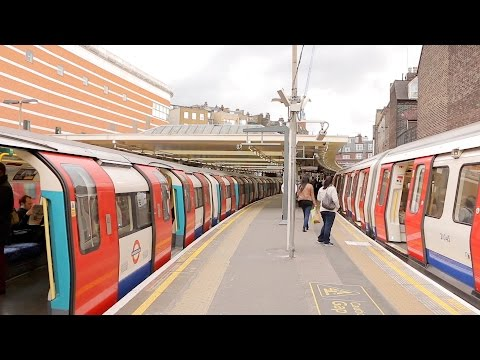 London Underground: Local And Express Trains On The Jubilee And Metropolitan Lines - Part I