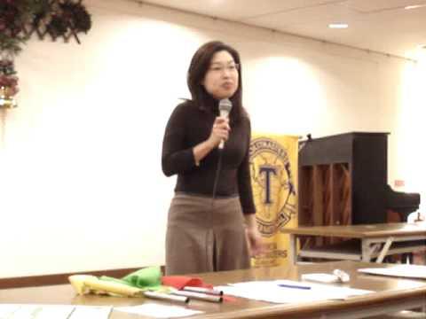 Toastmasters Sandy Lin's C2 Speech
