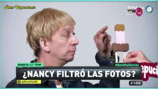 ¿Nancy filtró las fotos?
