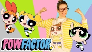 DIY Powerpuff Girls PowFactor T-Shirt! | Arts and Crafts with Crafty Carol