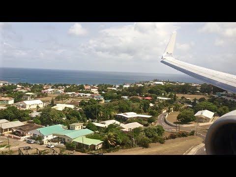 Sunny St. Kitts Arrival – Boeing 737-800 – American Airlines – SKB – N862NN – SCS Ep. 41