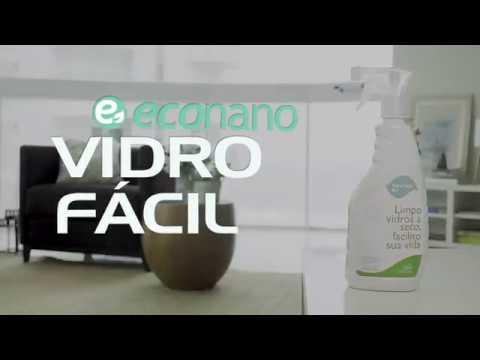 Vidro Fácil - Linha Casa Econano - Nanotecnologia