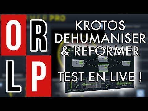 KROTOS DEHUMANISER & REFORMER - TEST EN LIVE !
