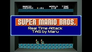 Hey Nintendo, watch TASBot beat SMB like a piano roll in 4:57 from power-on on original hardware