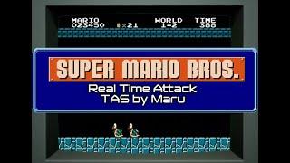 Hey Nintendo, watch TASBot beat SMB like a piano roll in 4:57 on original hardware