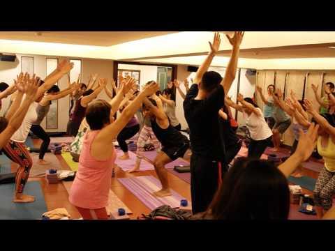 Dr. Abhay Keste Conducting Yoga Classes in Taiwan
