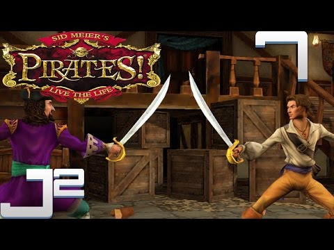 Sid Meier's Pirates PC - Shiver Me Timbers - Part 7 Gameplay