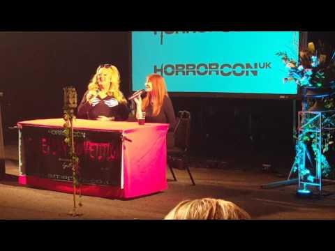 Cassandra Peterson  Elvira Mistress of the Dark Horrorcon Uk 2017