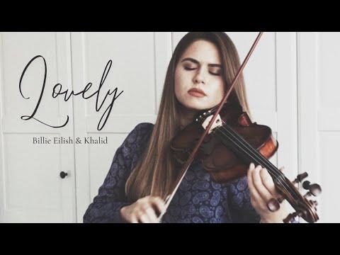 LOVELY - Billie Eilish \u0026 Khalid | violin cover by Ada Furmaniak