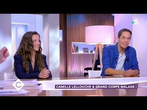 Youtube: Camille Lellouche et Grand Corps Malade! – C à Vous – 23/06/2020