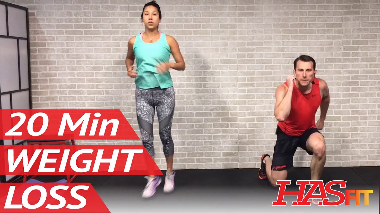 20 Min Home Workout without Equipment for Women & Men ...