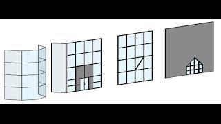 видео Фасадное остекление - основные виды и типы стеклопакетов