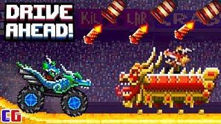 Drive Ahead БИТВА ДРАКОНОВ Безумные ВЕСЕННИЕ ЗАДАНИЯ Мультяшная игра про БОЕВЫЕ ТАЧКИ от Cool GAMES