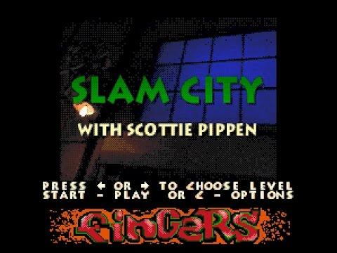 Mega-CD Longplay [077] Slam City with Scottie Pippen