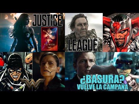 Noticias DC : CAMPAÑA CONTRA  BATMAN - JUSTICE LEAGUE - WONDER WOMAN - DOCTOR POISON - STEPPENWOLF