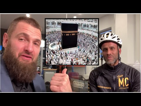 TheDeenShow #741 Reaching Mecca to do HAJJ on a BIKE