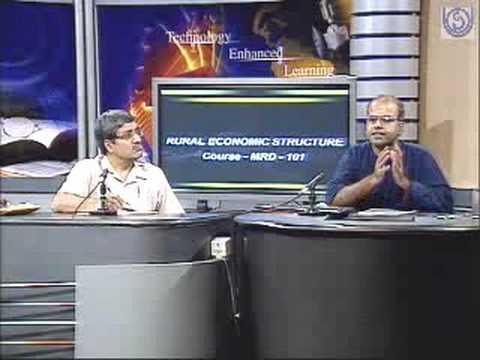 Rural Economic Structure Course MRD-101